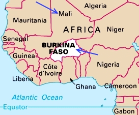 geography-of-burkina-faso